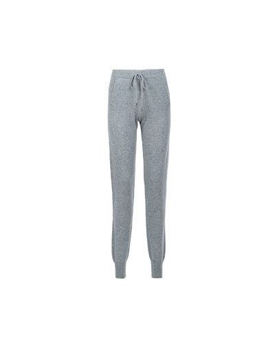 Кашемировые брюки - серые Not Shy