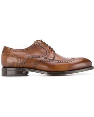 Туфли на шнуровке классические коричневый Berwick Shoes