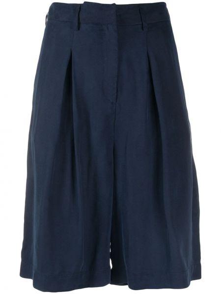 Синие шорты с карманами на молнии L'autre Chose