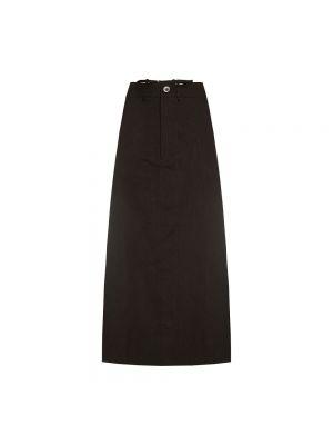 Spódnica ołówkowa wełniana - czarna Jacquemus