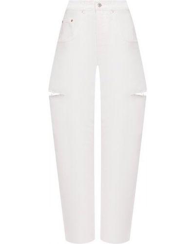 Хлопковые джинсы - бежевые Forte Dei Marmi Couture