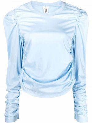 Футболка с длинными рукавами - синяя Comme Des Garçons Noir Kei Ninomiya