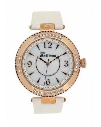 Белые кварцевые часы Galliano