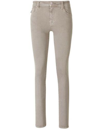 Beżowe mom jeans Tramarossa