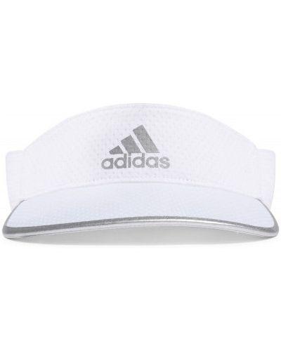Теннисный белый козырек Adidas