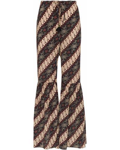 Шелковые брюки Figue