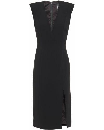 Черное платье с подкладкой из крепа Jay Godfrey