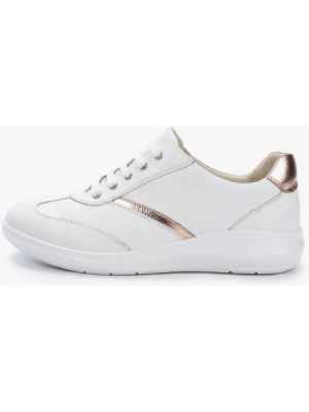 Белые кроссовки из натуральной кожи Ralf Ringer