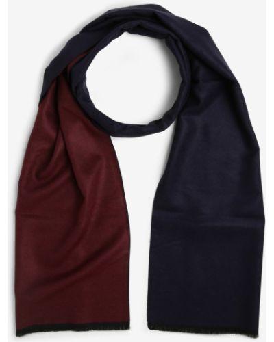 Niebieski szalik z wiskozy Finshley & Harding