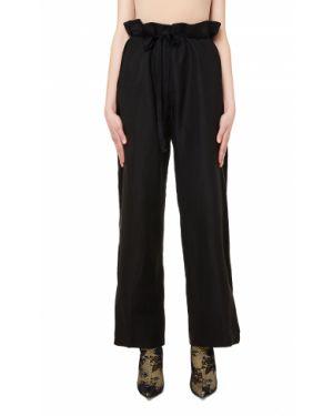 Широкие брюки - черные Ann Demeulemeester