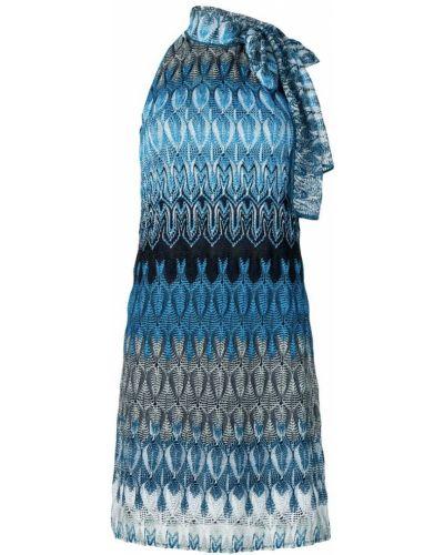 Платье трикотажное с бантом Missoni