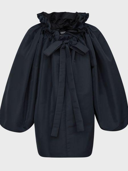 Куртка из полиэстера - черная Rochas