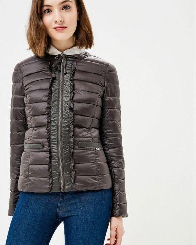 Зимняя куртка осенняя серая Gaudi