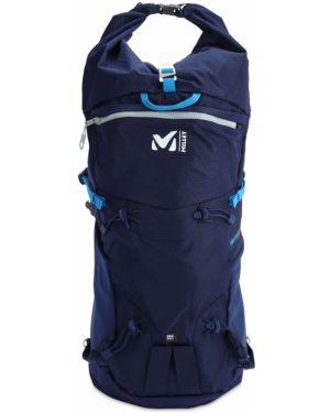 Niebieski plecak klamry z paskiem Millet