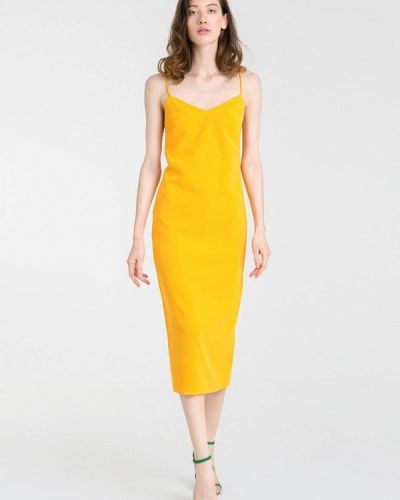 Желтое платье Magnetic