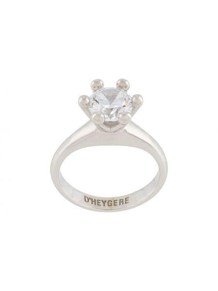 Pierścionek srebrny Dheygere