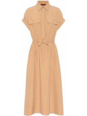 Платье миди теплое шелковое Loro Piana