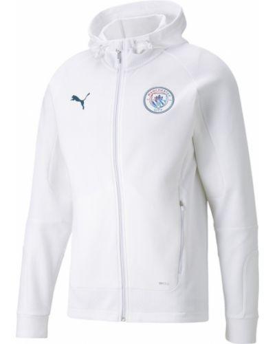 Белая куртка с логотипом Puma