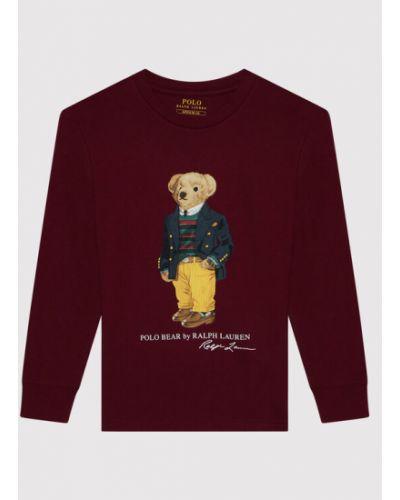 Koszula - bordowa Polo Ralph Lauren