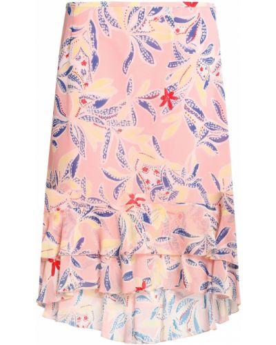 Розовая юбка с принтом See By Chloé