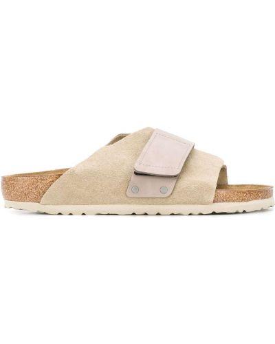 Skórzany sandały Birkenstock