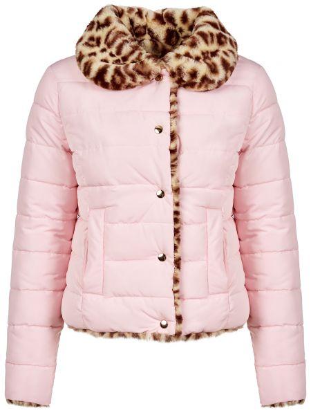 Куртка из полиэстера - розовая Trussardi Jeans