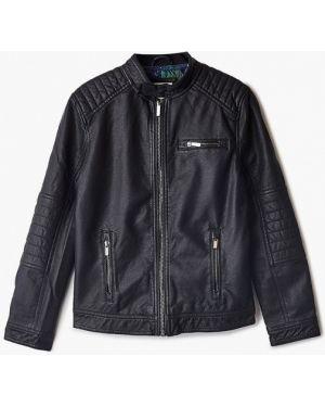 Куртка черная кожаная Ovs