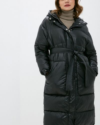 Черная утепленная куртка Annborg