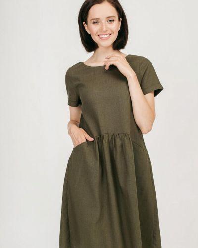 Зеленое платье Bessa