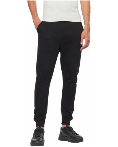 Czarne spodnie casual G-star
