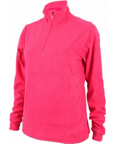 Różowy ciepły golf z długimi rękawami Hi-tec