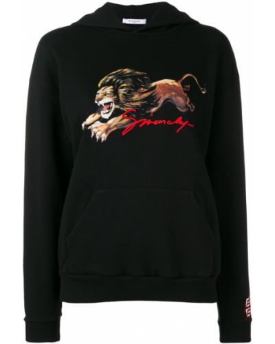 Толстовка с капюшоном с принтом с карманами Givenchy