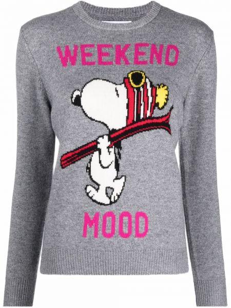 Кашемировый свитер - серый Mc2 Saint Barth