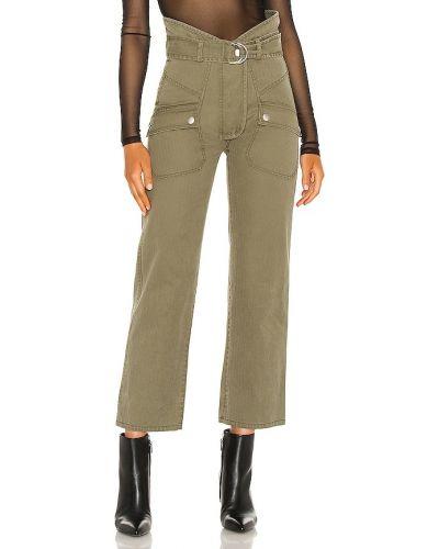 Зеленые армейские палаццо с карманами Marissa Webb