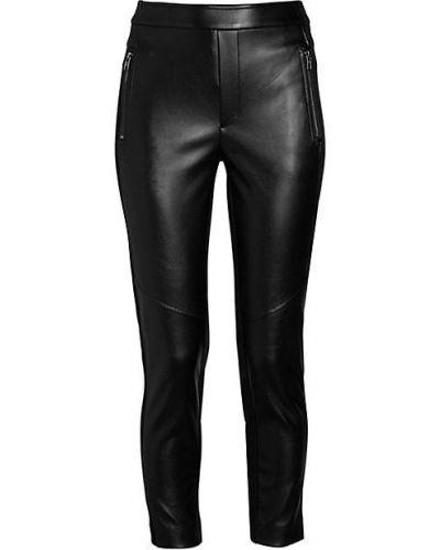 Czarne spodnie skorzane Bailey 44