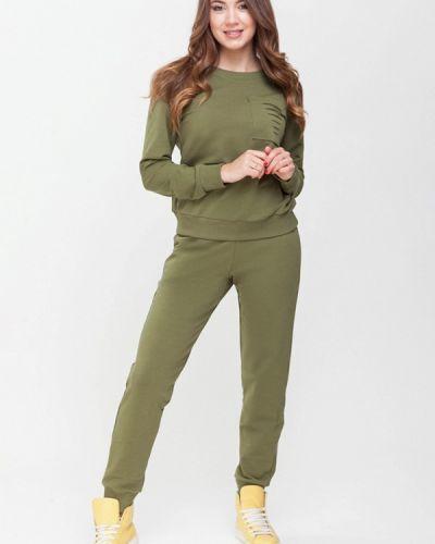 Спортивный костюм зеленый хаки Xarizmas