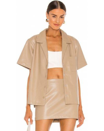Bluzka elegancka - beżowa L'academie