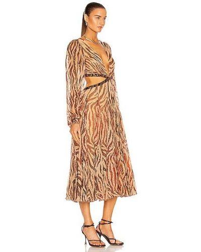 Платье миди - золотое Rococo Sand