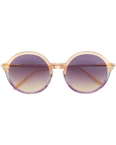 Солнцезащитные очки круглые Pomellato