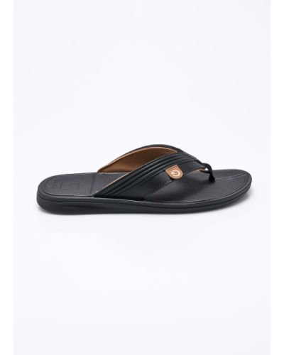 Черные сандалии текстильные Cartago