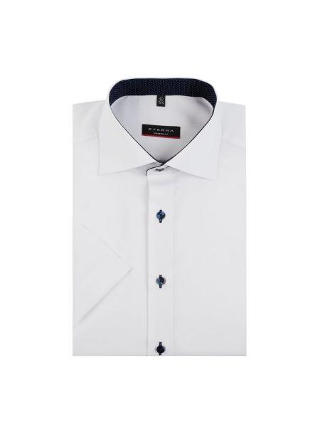 Koszula krótkie z krótkim rękawem Oxford z kołnierzem Eterna