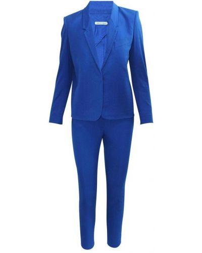 Niebieski garnitur Hermès Vintage