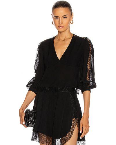 Кружевная блузка - черная Fleur Du Mal