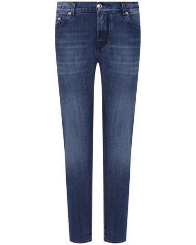 Хлопковые синие джинсы Jacob Cohen
