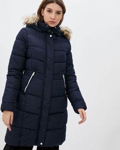 Теплая синяя куртка Q/s Designed By