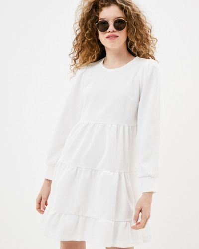 Прямое белое платье Imperial