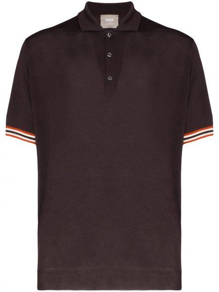 Свободная фиолетовая рубашка Lou Dalton