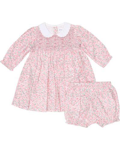 Różowa sukienka bawełniana Rachel Riley