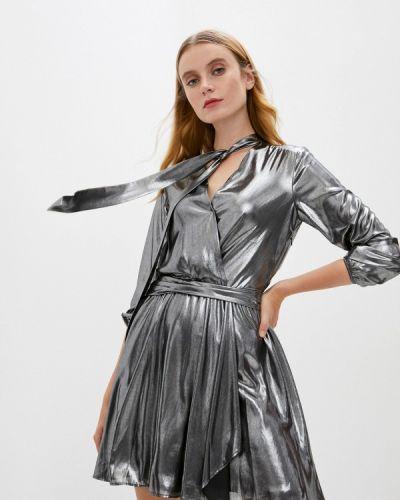 Серебряное вечернее платье Liu Jo