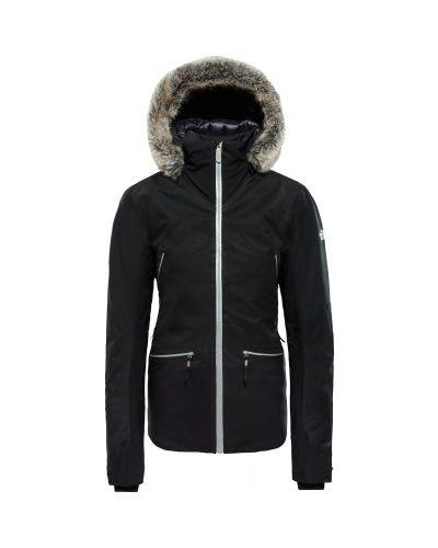 Куртка с капюшоном горнолыжная спортивная The North Face